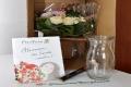 Blumenstauß mit Gratis Karte, Gratis Vase & Pralinenriegel