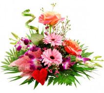 Bluvesa Blumenstrauß Herzensfreude